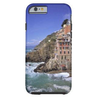Europe, Italy, Riomaggiore. Riomaggiore is built Tough iPhone 6 Case