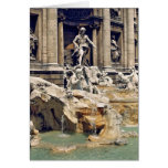Europe, Italy, Rome. Coins litter the bottom of Greeting Card