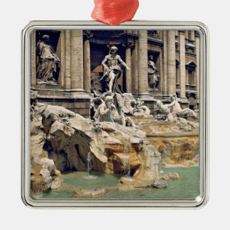 Europe, Italy, Rome. Coins litter the bottom of Metal Ornament
