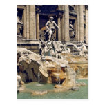 Europe, Italy, Rome. Coins litter the bottom of Postcard