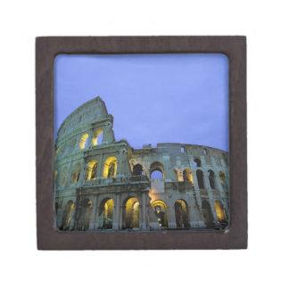 Europe, Italy, Rome. Evening view of the Keepsake Box