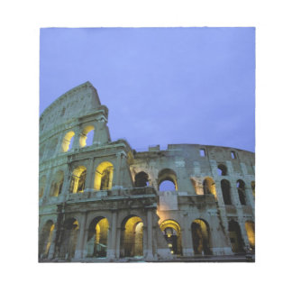 Europe, Italy, Rome. Evening view of the Notepad