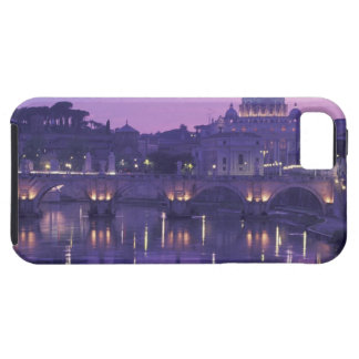 Europe, Italy, Rome. St. Peter's and Ponte Sant iPhone 5 Case