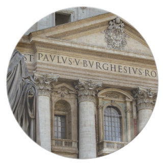 Europe, Italy, Rome. St. Peter's Basilica (aka 2 Dinner Plates