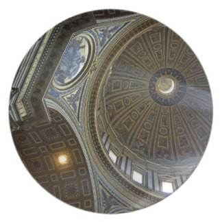 Europe, Italy, Rome. St. Peter's Basilica (aka Dinner Plate