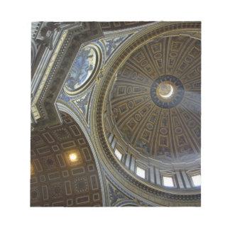 Europe, Italy, Rome. St. Peter's Basilica (aka Note Pad