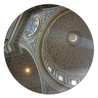 Europe, Italy, Rome. St. Peter's Basilica (aka Dinner Plates