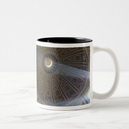Europe, Italy, Rome. St. Peter's Basilica (aka Two-Tone Coffee Mug
