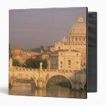 Europe, Italy, Rome, The Vatican. Basilica San 3 Ring Binder