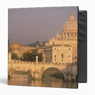 Europe, Italy, Rome, The Vatican. Basilica San 3 Ring Binder