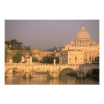 Europe, Italy, Rome, The Vatican. Basilica San Photo Print