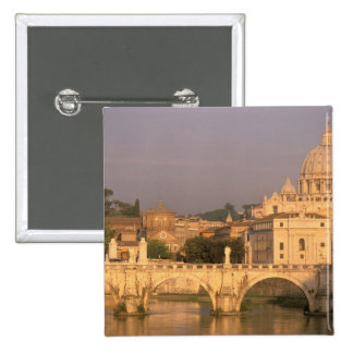 Europe, Italy, Rome, The Vatican. Basilica San Pinback Button