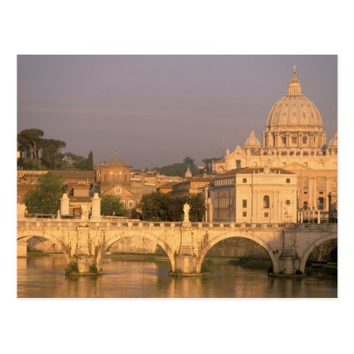Europe, Italy, Rome, The Vatican. Basilica San Postcards