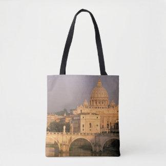 Europe, Italy, Rome, The Vatican. Basilica San Tote Bag