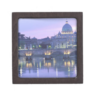 Europe, Italy, Rome, The Vatican. St. Peter's & Jewelry Box