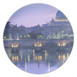 Europe, Italy, Rome, The Vatican. St. Peter's & Melamine Plate