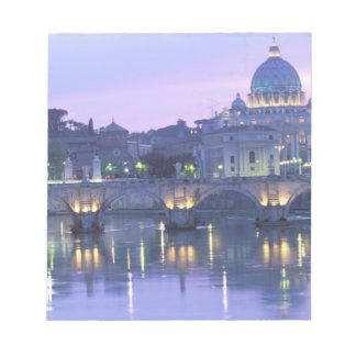 Europe, Italy, Rome, The Vatican. St. Peter's & Notepad