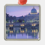 Europe, Italy, Rome, The Vatican. St. Peter's & Christmas Ornament