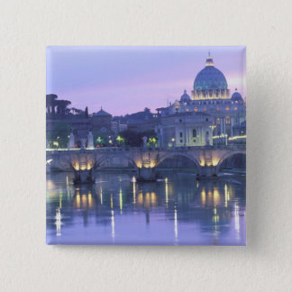 Europe, Italy, Rome, The Vatican. St. Peter's & Pinback Button