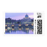 Europe, Italy, Rome, The Vatican. St. Peter's & Postage
