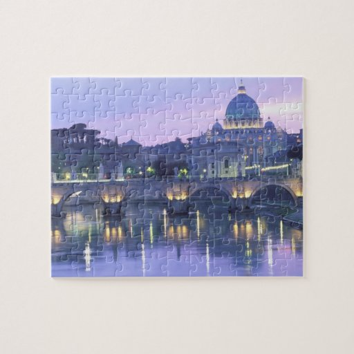 Europe, Italy, Rome, The Vatican. St. Peter's & Puzzle