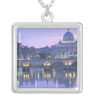 Europe, Italy, Rome, The Vatican. St. Peter's & Square Pendant Necklace