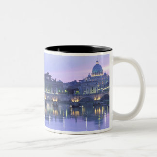 Europe, Italy, Rome, The Vatican. St. Peter's & Two-Tone Coffee Mug