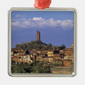 Europe, Italy, San Miniato. Beneath a wide, Christmas Tree Ornaments