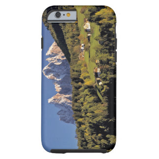 Europe, Italy, San Pietro. The Odle Group seem iPhone 6 Case
