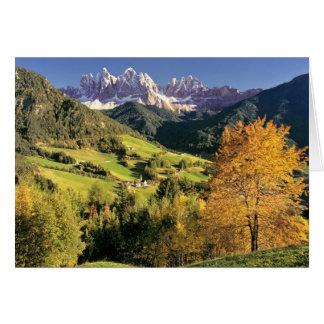 Europe, Italy, Santa Magdalena. The tiny Greeting Card