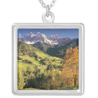 Europe, Italy, Santa Magdalena. The tiny Personalized Necklace