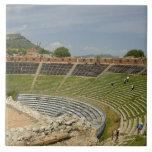 Europe, Italy, Sicily, Taormina. 3rd century 2 Ceramic Tile