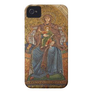 Europe, Italy, Sicily, Taormina. Madonna & child iPhone 4 Case-Mate Case