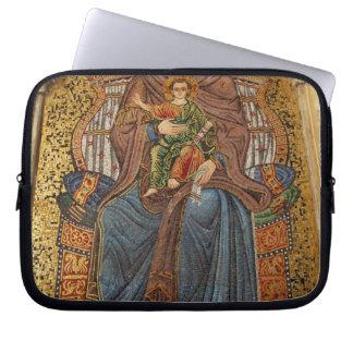 Europe, Italy, Sicily, Taormina. Madonna & child Computer Sleeve