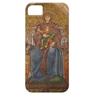 Europe, Italy, Sicily, Taormina. Madonna & child iPhone SE/5/5s Case