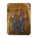 Europe, Italy, Sicily, Taormina. Madonna & child Rectangular Photo Magnet