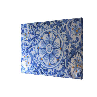 Europe, Italy, Sicily, Taormina. Traditional 3 Stretched Canvas Prints