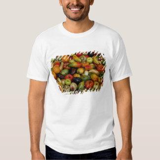Europe, Italy, Sicily, Taormina. Traditional 3 T-shirts