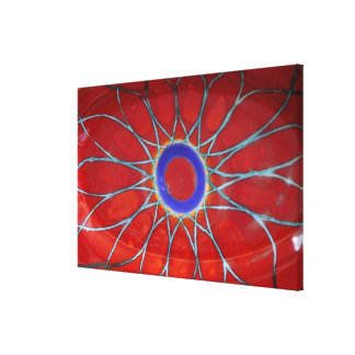 Europe, Italy, Sicily, Taormina. Traditional 4 Gallery Wrapped Canvas