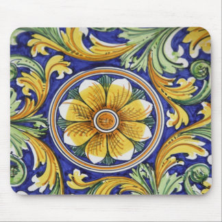Europe, Italy, Sicily, Taormina. Traditional 4 Mouse Pad
