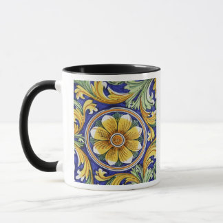Europe, Italy, Sicily, Taormina. Traditional 4 Mug