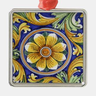 Europe, Italy, Sicily, Taormina. Traditional 4 Ornaments