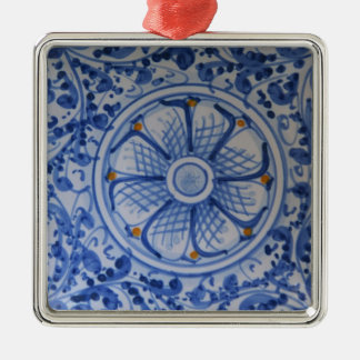 Europe, Italy, Sicily, Taormina. Traditional 5 Metal Ornament