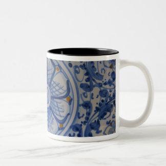 Europe, Italy, Sicily, Taormina. Traditional 5 Two-Tone Coffee Mug