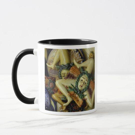 Europe, Italy, Sicily, Taormina. Traditional 9 Mug