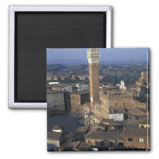 Europe, Italy, Siena. Town overview Fridge Magnets