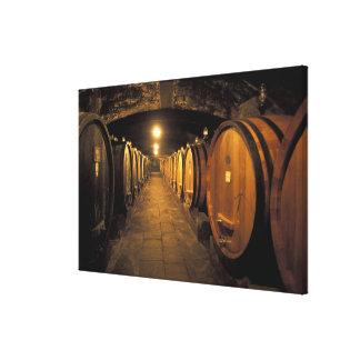 Europe, Italy, Toscana region. Chianti cellars Canvas Print