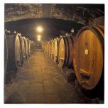 Europe, Italy, Toscana region. Chianti cellars Large Square Tile