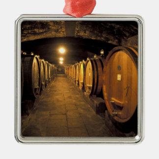 Europe, Italy, Toscana region. Chianti cellars Metal Ornament