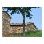 Europe, Italy, Tuscany, abandoned villa in Postcard